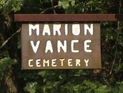 Marion Vance Cemetery