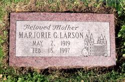Marjorie <I>George</I> Larson