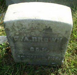 Pvt Francis Asberry Brown