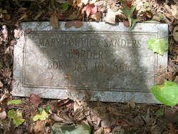 Mary Louvicy <I>Sanders</I> Borders
