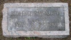 Florence <I>Ray</I> Ascher