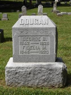 """Fidelia Mary """"Delia"""" <I>Randall</I> Dougan"""