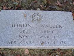 Corp Johnnie Waller