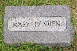Mary <I>Enright</I> O'Brien