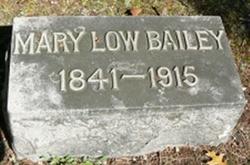 Mary Prescott <I>Low</I> Bailey