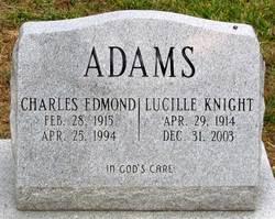 Charles Edmond Adams