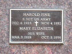 Harold Fine