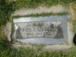 Rose <I>Sheppard</I> Sanders