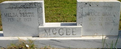 Bruce Erman McGee