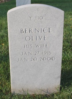 Bernice Olive Wakefield