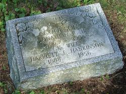 Harriet E <I>Hankinson</I> Cookson