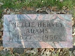 Nellie <I>Hervey</I> Adams