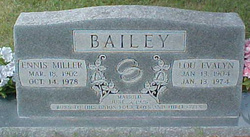 Lou Evalyn <I>Conn</I> Bailey