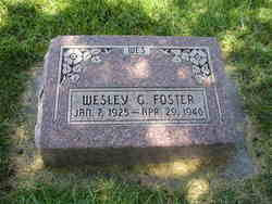Wesley G. Foster