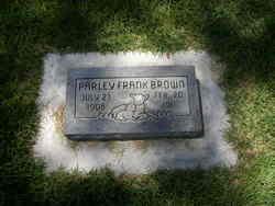 Parley Frank Brown