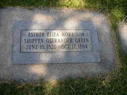 Esther Eliza <I>Morrison Shippen Ostrander</I> Green