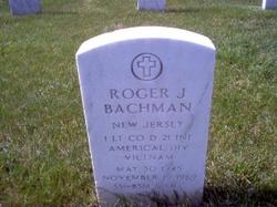 1LT Roger Joseph Bachman