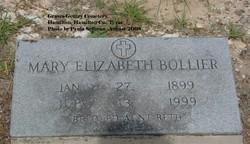 "Mary Elizabeth ""Beth"" <I>Hubbard</I> Bollier"