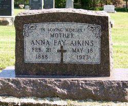 "Anna Fay ""Annie"" <I>Beecher</I> Aikins"