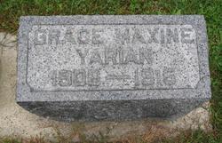 Grace Maxine Yarian