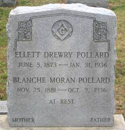 Blanche <I>Moran</I> Pollard