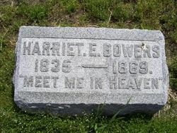 Harriet E. Bowers