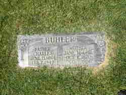 Jane <I>McGhie</I> Buhler