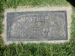 Annie G. <I>Cannegieter</I> Peters