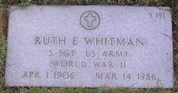 Ruth E. Whitman