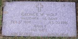 George Washington Wolf