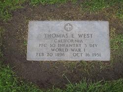 """Thomas Edward """"Eddie"""" West"""