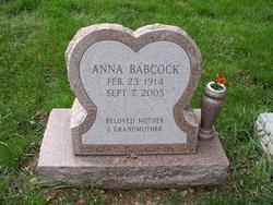 Anna <I>Summerer</I> Babcock