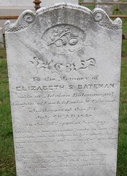 Elizabeth Stillwell <I>Edmunds</I> Bateman