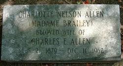 "Charlotte ""Madame Brailey"" <I>Nelson</I> Allen"
