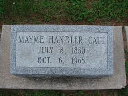 Mayme M <I>Handler</I> Catt