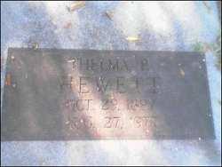 Thelma P. Hewett