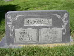 "Thomas Frances ""Tom"" McDonald"