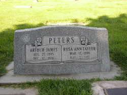 Sgt Arthur James Peters