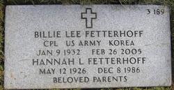 Hannah L Fetterhoff