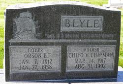 Orson E Blyle