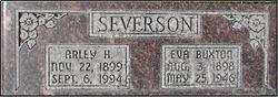 Eva <I>Buxton</I> Severson