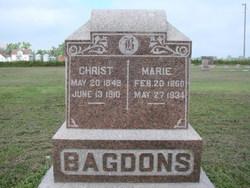 Marie <I>Ernst</I> Bagdons