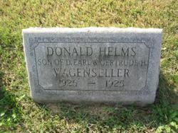 Donald Helms Wagenseller