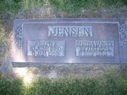 Bertha Lucretia <I>Yancey</I> Jensen