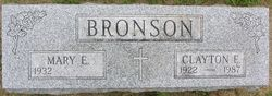 Clayton E Bronson