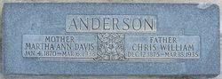 Christian William Anderson