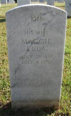 Maggie Lula <I>Mullins</I> Bagwell