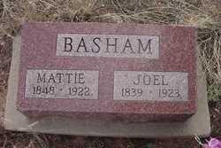 """Martha """"Mattie"""" <I>Critchfield</I> Basham"""