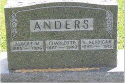 Charlotte S <I>Bowers</I> Anders