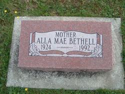 Alla Mae <I>Morgan</I> Bethell